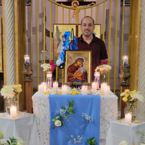 March 19 Akathist Service