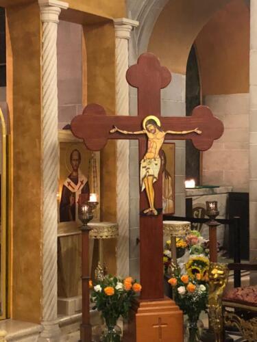 Pasión y crucifixión Orthros